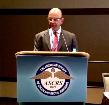 Dr. Anantha Padmanabhan's presentation at the 2017 American Society of Colon and Rectal Surgeons