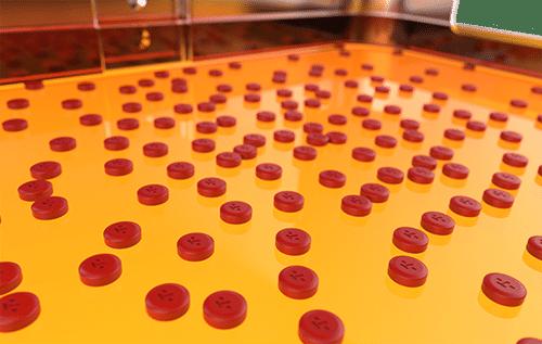 PL500 - Pill Counter close up