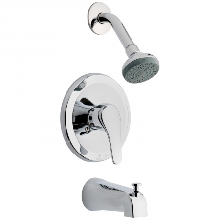 infinity tub shower faucet taymor