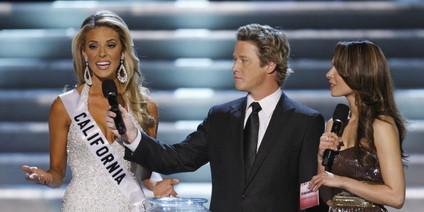 Will sich gegen die Homoehe starkmachen: Miss California.    Foto: ap