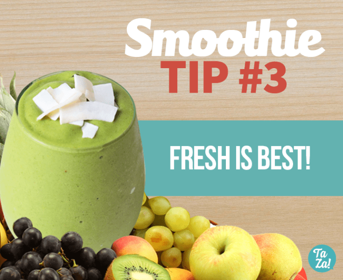 Healthy Smoothie Tip #3