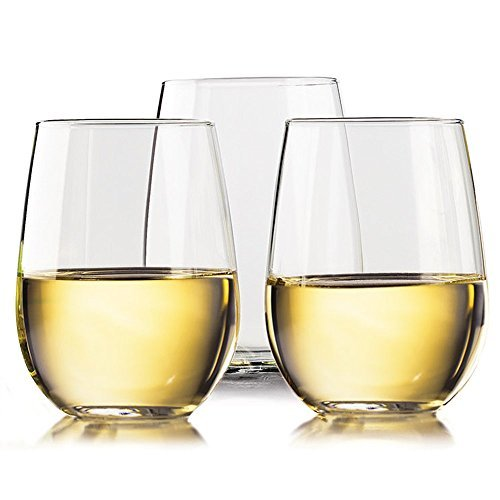 unbreakable drama-free stemless glasses