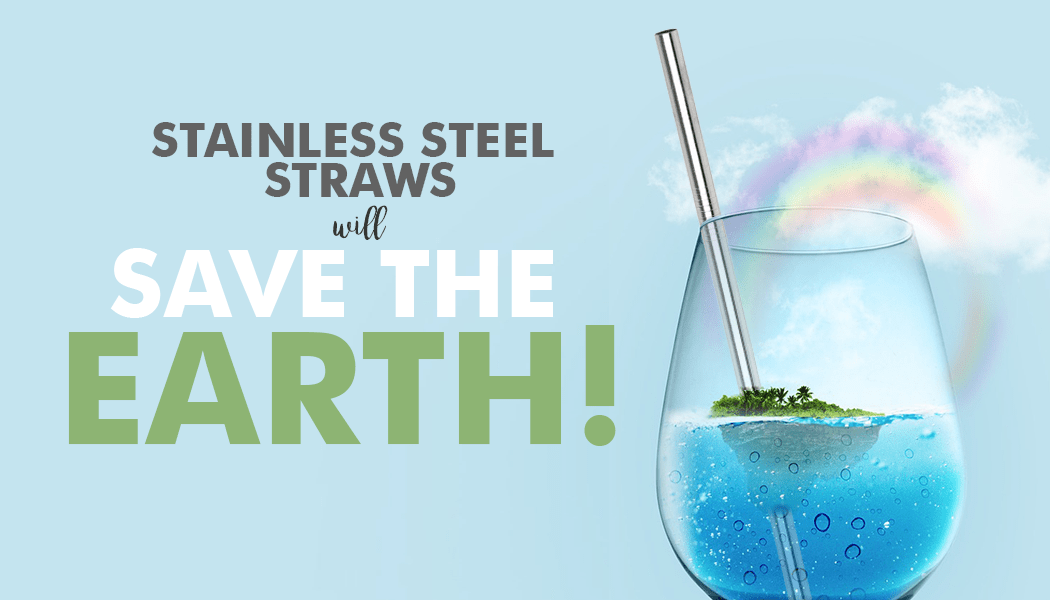 stainless steel straws planet earth