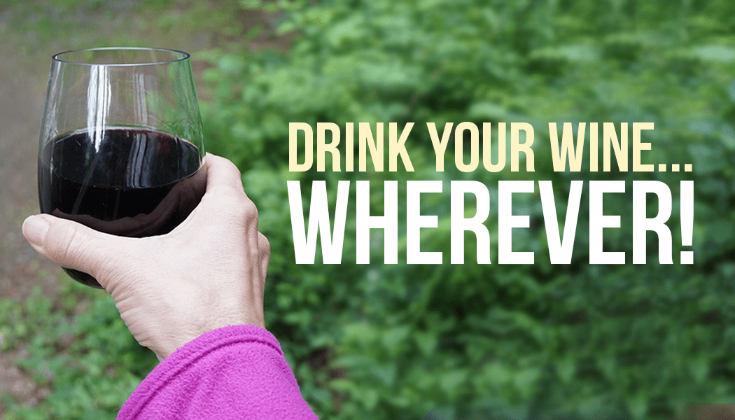 outdoor adventure portable wine glass
