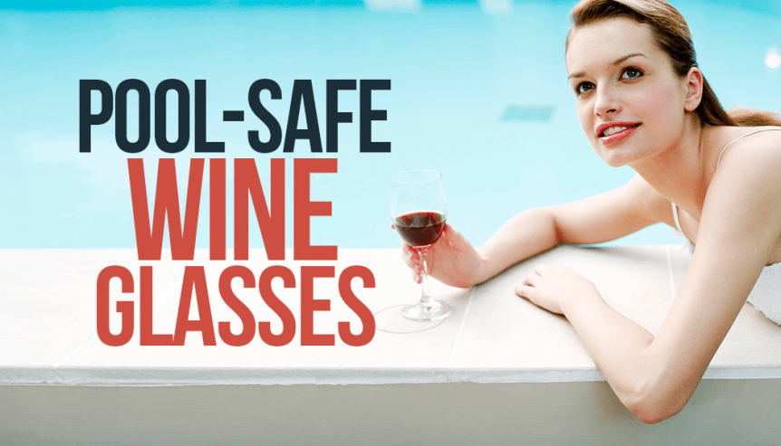 pool safe wine glasses taza