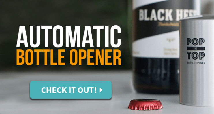 Bottle Cap Collection Automatic Bottle Opener