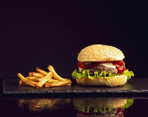 taza grill east lyme burger with fries scaled e1611755159375