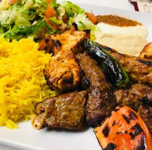 taza grill east lyme mixed kabob 1