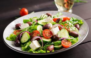 taza grill east lyme greek salad scaled e1612214460277