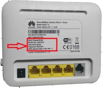 WE [Huawei - HG532N - HG531 V1] Configuration - تذكرة نت