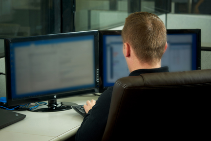 managed IT network security team