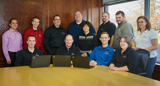 IT solutions team Michigan