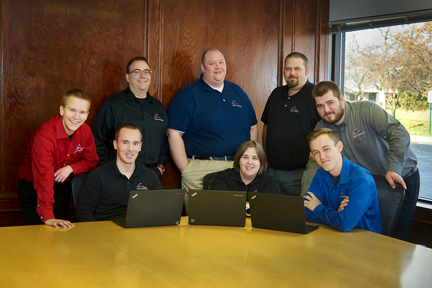 Your team for managed IT and network services in Sterling Heights, Michigan.
