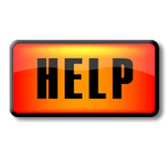 image is help button