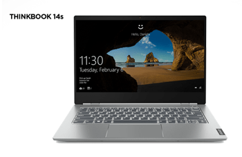 Lenovo ThinkBook 14s front view