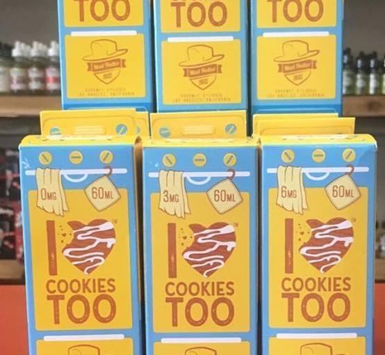 i love cookies too @ taz vapor