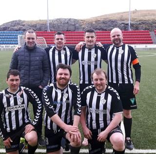 Old boys á sigursferð