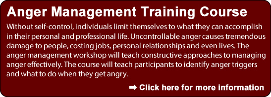 Anger Management Training Course