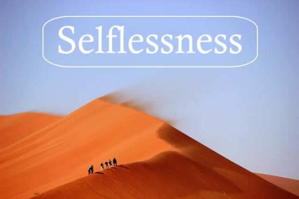 define selfless