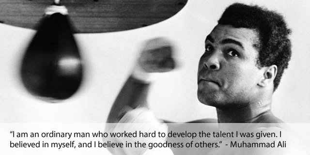 Team Building Quotes From Mohammed Ali