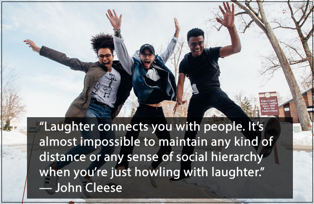 Team Building Quotes About Laughter