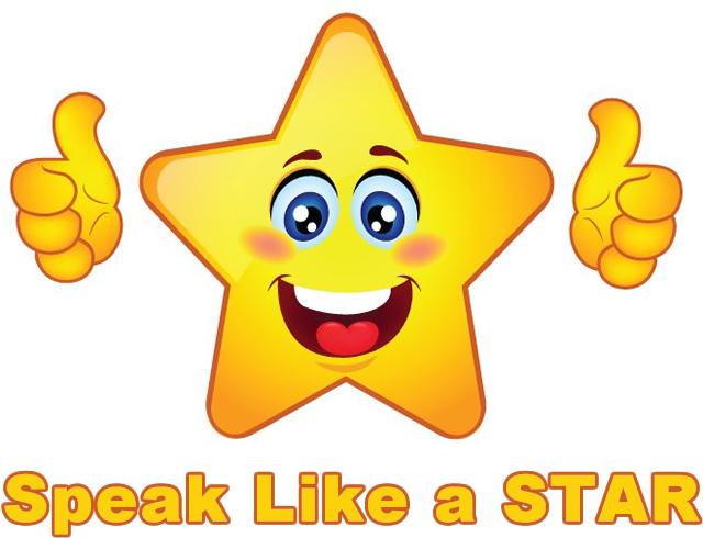 Speak Like a STAR
