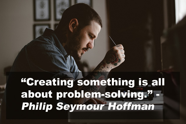 Preparing the way for the creative problem solving process.