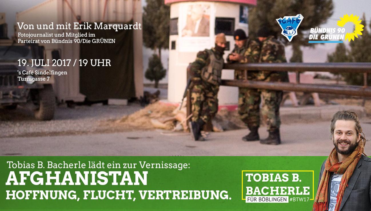 Fotovortrag & Vernissage: Afghanistan – Hoffnung, Flucht, Vertreibung.