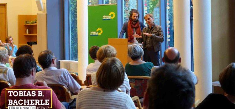 """Bericht: """"Wir müssen zur wirklichen, sozialen Marktwirtschaft zurückkehren"""" – Gerhard Schick MdB in Renningen"""