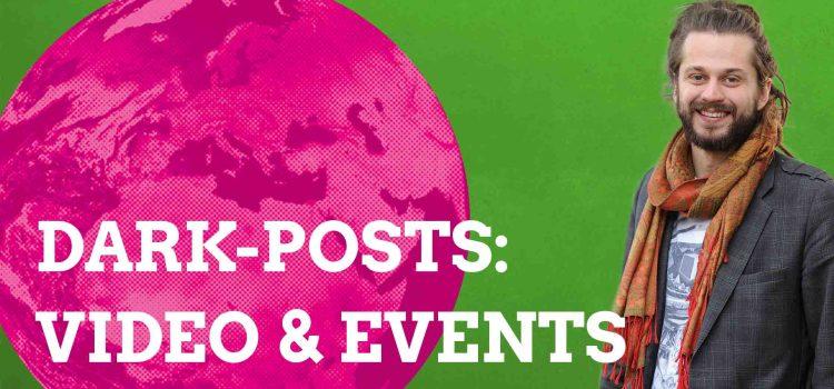 Darkpost II: Eventwerbung & Junges Video