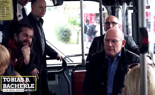 Verkehrspolitische Bustour mit Winne Hermann MdL