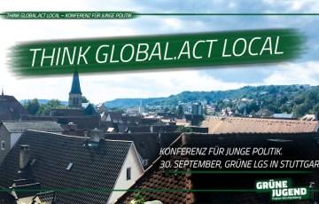 Think Global.Act Local – Konferenzen für junge Politik