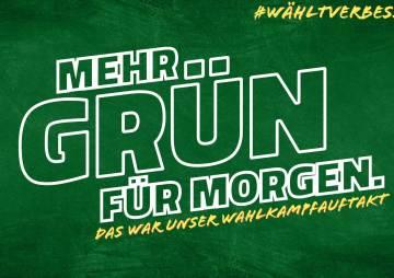 Young.Wyld.& Green. Wahlkampfauftakt der GRÜNEN JUGEND Baden-Württemberg