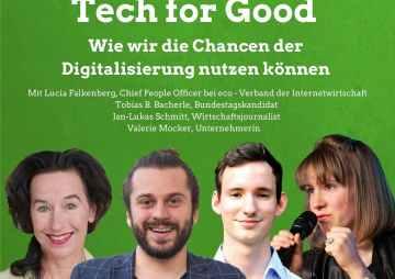 Tech for Good – Online Diskussion zur Digitalindustrie in Europa