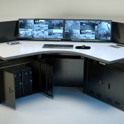 C3 Console Technical Furniture for Security