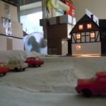 Stellprobe am Parkplatz der Rukollamühle in Waldesruh