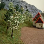 Bäume auf der Streuobstwiese von Förster Grünrock gepflanzt