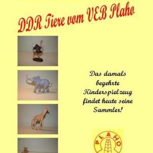 Katalog der DDR-Tiere vom VEB Plaho Steinach