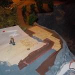 Pflasterung der Wege und Terrasse an der Rukollamühle