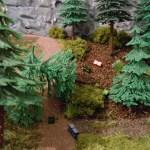 Ein Loch im Wald – muß man sich wundern?