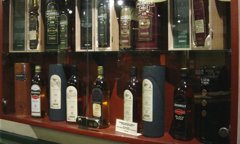 Bushmills Whisky Sammlung