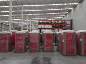 Monterrey facilities portable toilets