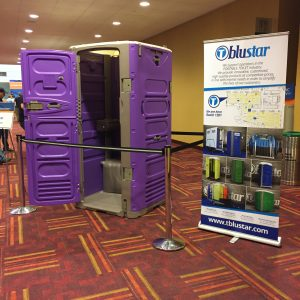 Portable Toilets at the 2017 WWETT Show
