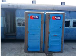 mobile toilet in India