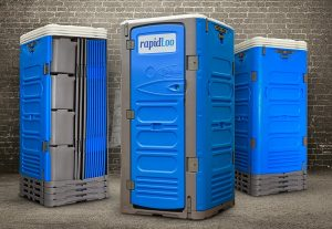 RapidLoo portable toilet TRIO