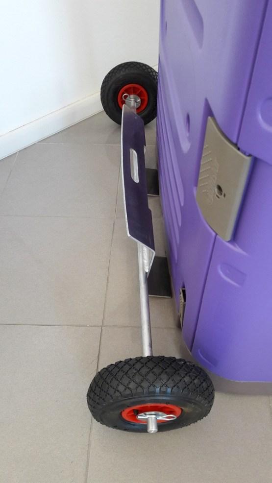 portable toilet wheels