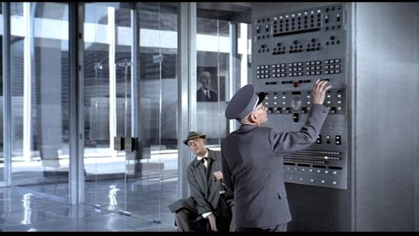 Jacques Tati Playtime Questions and Screen Captures from Film