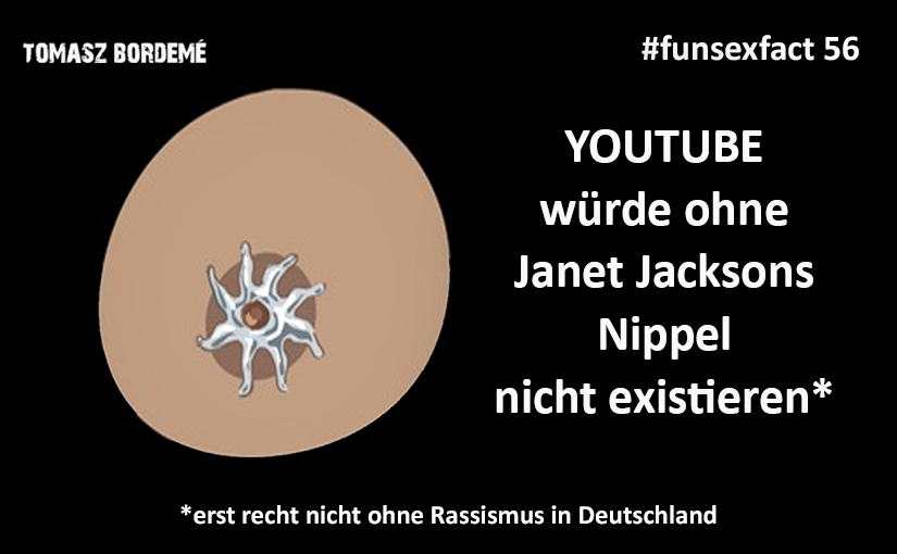 Fun Sex Fact 56 – Nipplegate und Youtube