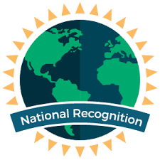 National Recognition Graphic