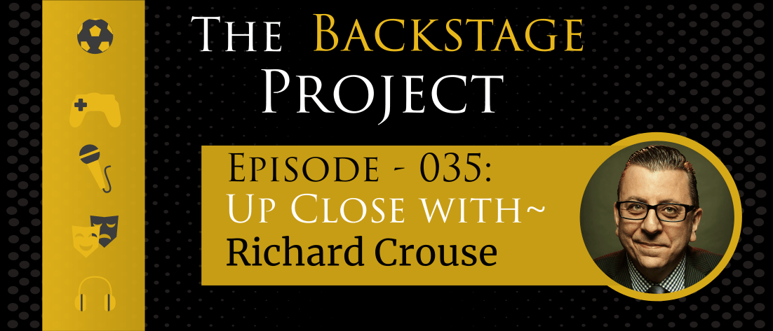 Being your authentic self - Richard Crouse in conversation with TBP Podcast EP 035